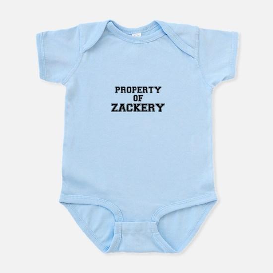 Property of ZACKERY Body Suit