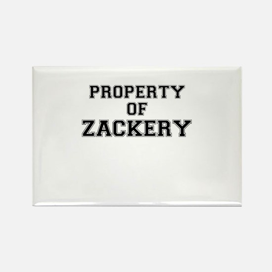 Property of ZACKERY Magnets