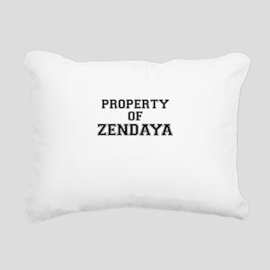 Property of ZENDAYA Rectangular Canvas Pillow