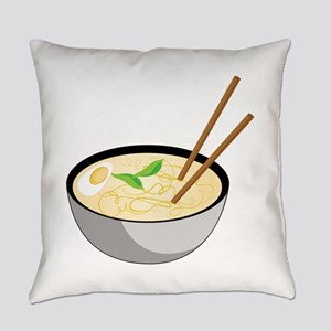 Pho Soup Everyday Pillow