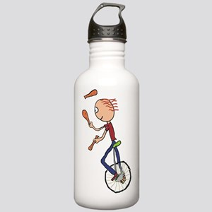 Unicycle Juggler Stainless Water Bottle 1.0L
