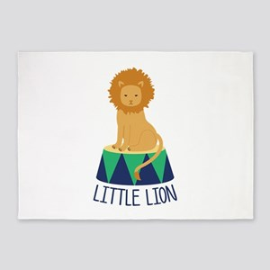 Little Lion 5'x7'Area Rug