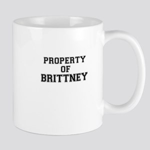Property of BRITTNEY Mugs