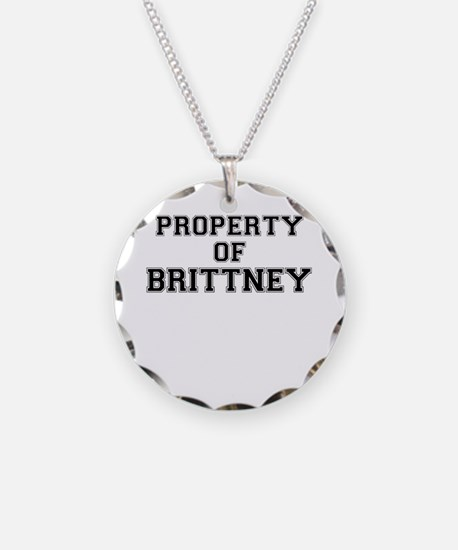 Property of BRITTNEY Necklace