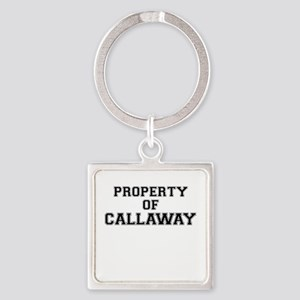 Property of CALLAWAY Keychains