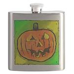 Halloween Pumpkin Flask