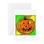 Halloween Pumpkin Greeting Cards