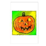 Halloween Pumpkin Postcards (Package of 8)
