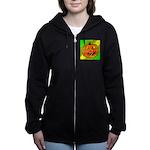 Halloween Pumpkin Women's Zip Hoodie