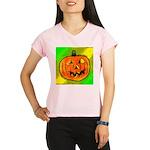 Halloween Pumpkin Performance Dry T-Shirt