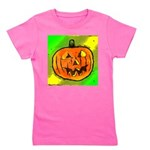 Halloween Pumpkin Girl's Tee