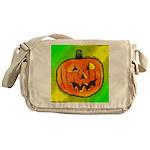 Halloween Pumpkin Messenger Bag