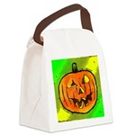 Halloween Pumpkin Canvas Lunch Bag