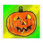 Halloween Pumpkin King Duvet
