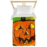 Halloween Pumpkin Twin Duvet