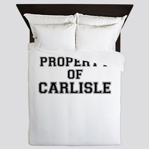 Property of CARLISLE Queen Duvet