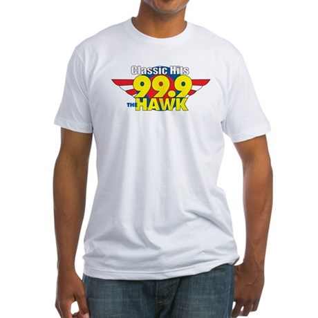 99.9 The Hawk Fitted T-Shirt