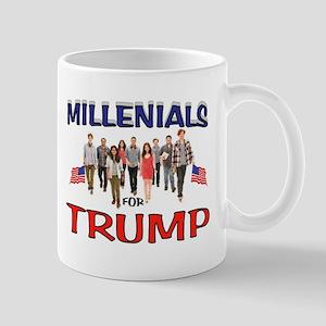 MILLENIALS FOR TRUMP Mugs