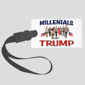 MILLENIALS FOR TRUMP Luggage Tag