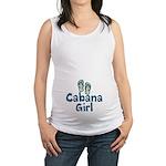 Cabana Girl Maternity Tank Top
