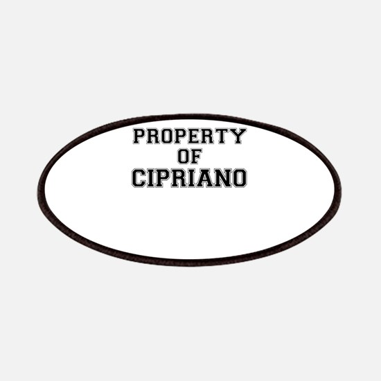 Property of CIPRIANO Patch