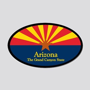 Arizona 35x21 Oval Wall Decal