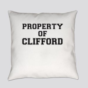 Property of CLIFFORD Everyday Pillow