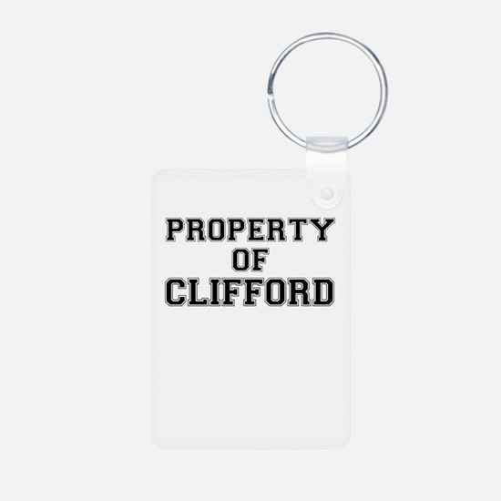 Property of CLIFFORD Keychains