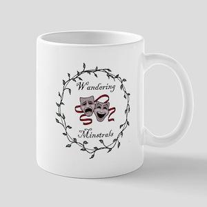 Wandering Minstrels Logo Mugs
