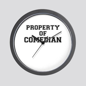 Property of COMEDIAN Wall Clock
