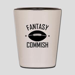 Fantasy Football Commish Shot Glass