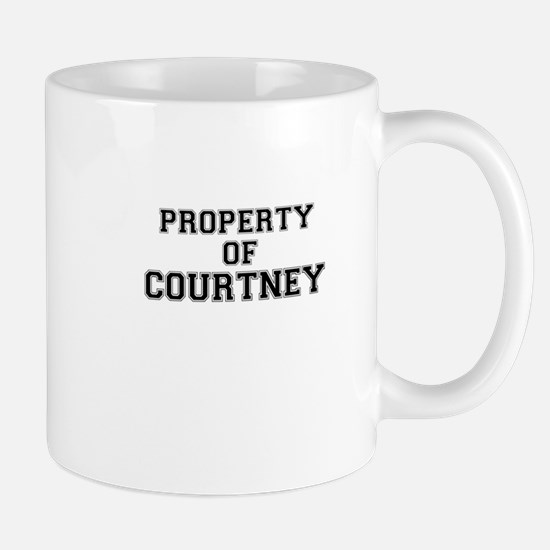 Property of COURTNEY Mugs