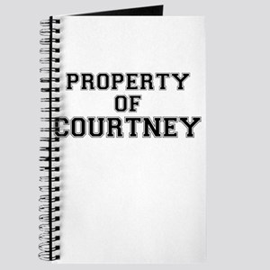Property of COURTNEY Journal