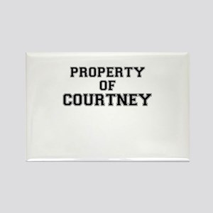 Property of COURTNEY Magnets