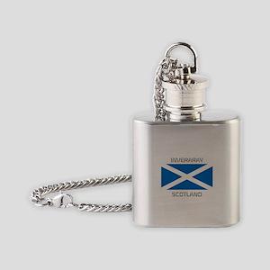 Inveraray Scotland Flask Necklace