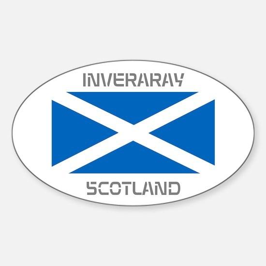 Inveraray Scotland Sticker (Oval)
