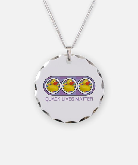 Quack Lives Matter Necklace