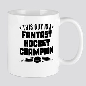 This Guy Fantasy Hockey Champion Mugs