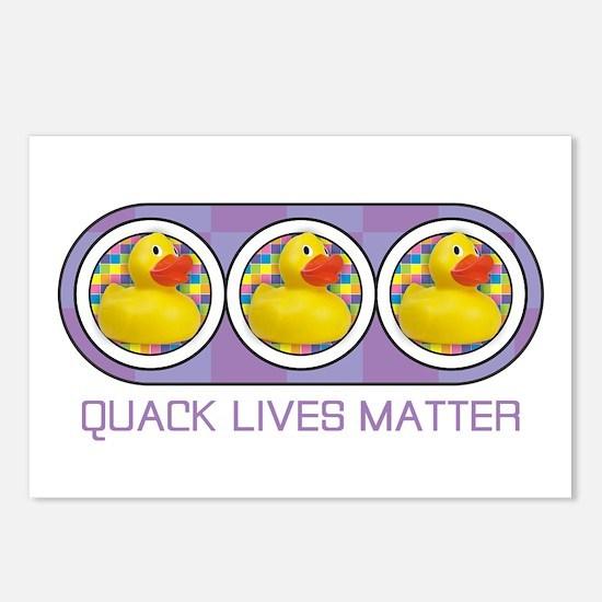 Quack Lives Matter Postcards (Package of 8)