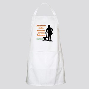 Look on in awe, mortals BBQ Apron