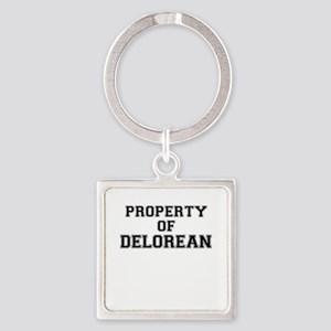 Property of DELOREAN Keychains