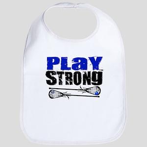 Play LAX Strong Bib