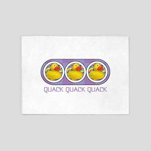 Quack Quack Quack 5'x7'Area Rug