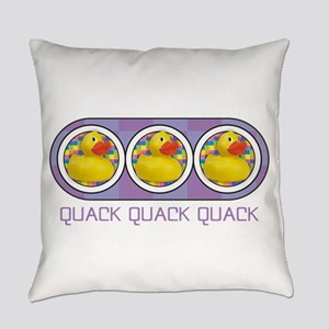 Quack Quack Quack Everyday Pillow
