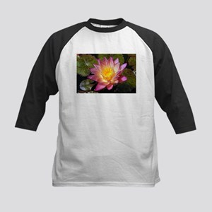 Lovely Pink Water Lily Baseball Jersey