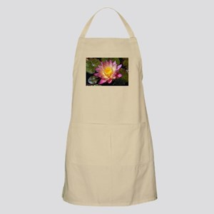 Lovely Pink Water Lily Apron