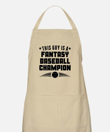 This Guy Fantasy Baseball Champion Apron