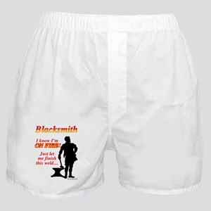 I know I am on fire Boxer Shorts