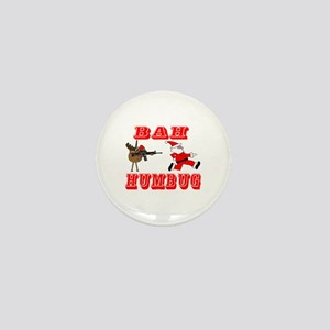 Bah Humbug Mini Button
