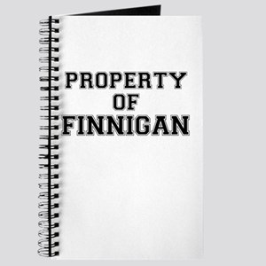 Property of FINNIGAN Journal
